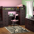 Atlantic Heights Stairway Storage Bed