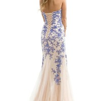 stock New Lace Tulle Long Mermaid Cocktail Evening Formal Prom Dress Party Gown