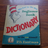 The Cat In The Hat Beginner Book Dictionary P D Eastman Dr Seuss Book Club Edition