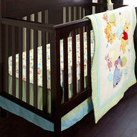 Disney Winnie the Pooh Crib Bedding Set for Baby - Personalizable | Disney Store