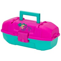 Plano Youth Mermaid Tackle Box - Pink-Turquoise [500102]