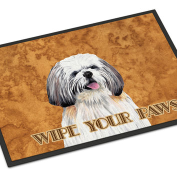 Shih Tzu Indoor or Outdoor Mat 18x27 Doormat