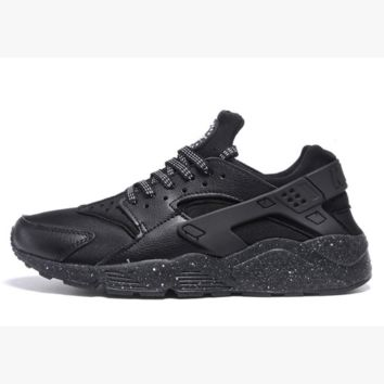 Nike Drops the Air Huarache Ultra Sports shoes Black