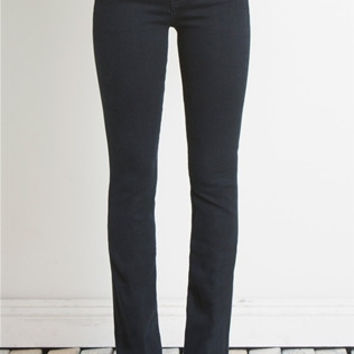 HENRY & BELLE Micro Flare Jeans in Onyx