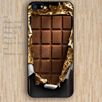 iPhone 5s 6 case colorful chocolate phone case iphone case,ipod case,samsung galaxy case available plastic rubber case waterproof B269