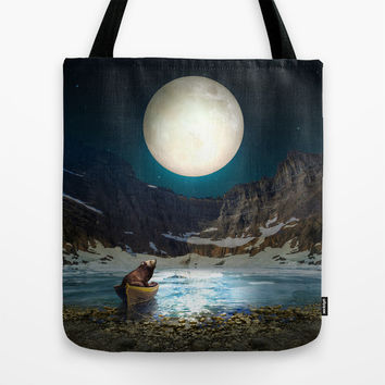Somewhere You Are Looking At It Too II Tote Bag by Soaring Anchor Designs | Society6