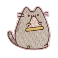 Pusheen Pizza Iron-On Patch