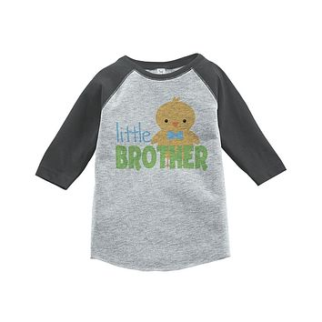 Custom Party Shop Boy's Little Brother Vintage Baseball Tee