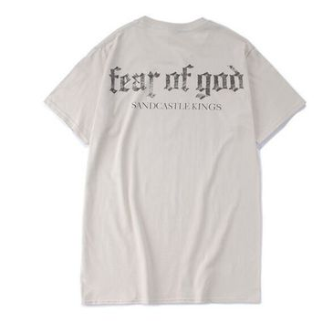 Fear of god t shirt mens justin bieber purpose tour shirts mens hip hop for streetwear punk rock tees tops