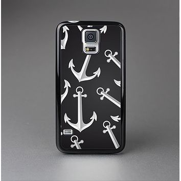 The Black Anchor Collage Skin-Sert Case for the Samsung Galaxy S5