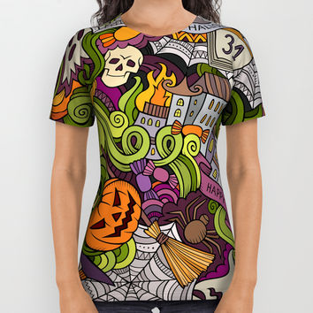 Halloween All Over Print Shirt by Printerium