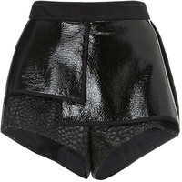 Ellery Black City Thunder Pleat Shorts