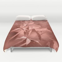 Through Rose Colored Glasses Duvet Cover by Theresa Campbell D'August Art