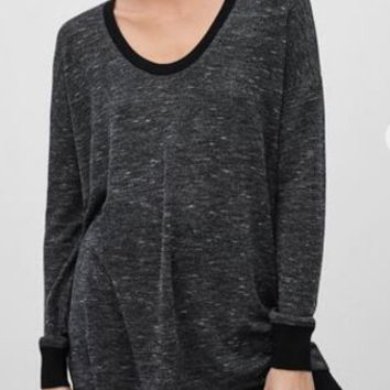 Dark Gray Long-Sleeve Shirt