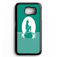 The Little Mermaid Disney Princess Ariel, Flounder And Sebastian Samsung galaxy S6 Case