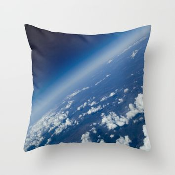 infinite space Throw Pillow by VanessaGF