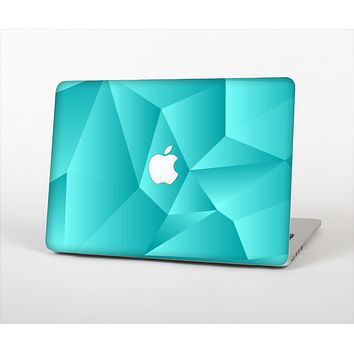 The Blue Geometric Pattern Skin Set for the Apple MacBook Air 11""