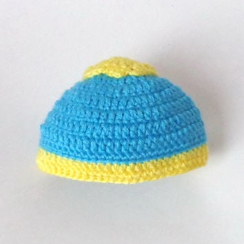 Eric Cartman Hat South Park inspired Beanie Or Choose Your Favorite Character - Newborn to Adult Photo Prop Halloween / Cosplay/ Baby Shower