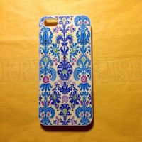 iPhone 5c case, iPhone 5c Case, Blue & Light Blue Damask iPhone 5c Cover, iPhone 5c Cases, iPhone 5c Case, Cute iPhone 5c Case