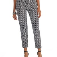 White House | Black Market Printed Ankle Pant