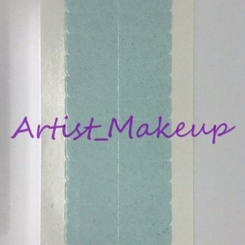 Walker Weft Tape Tabs Blue Liner Lace Wig Toupee Hair Extensions 120 Tabs
