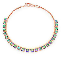 CA&LOU - Tara Crystal Collar Necklace - Saks Fifth Avenue Mobile