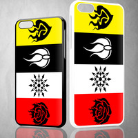 Rwby Yellow Logo X0611 iPhone 4S 5S 5C 6 6Plus, iPod 4 5, LG G2 G3 Nexus 4 5, Sony Z2 Case