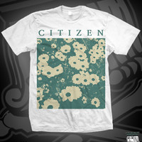 CIT NEW FLOWER TEE ON WHITE