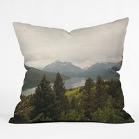 Catherine McDonald Summer In Montana Throw Pillow