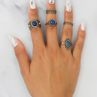 Ocean Cru Ring Set