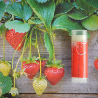 Strawberry Lip Balm - Fresh Picked Strawberry