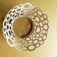 Pack of 120 Dots Flower Vine Filigree Laser Cut Lace Cupcake Wrapper Wraps Liner Pearlescent Cupcake Muffin Wrappers Cake Decoration Cake Cases Color light purple