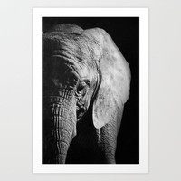 Elephant Art Print by Ark.Us.