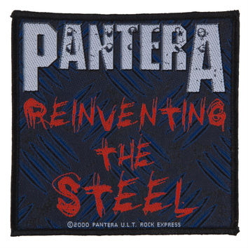 Pantera - Reinventing The Steel Patch