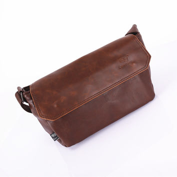 Soft Ppurses Men Shoulder Bags Korean Vintage Bags Messenger Bags [6583342791]