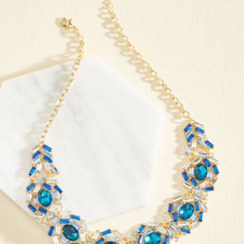 Glamour Out an Agreement Statement Necklace | Mod Retro Vintage Necklaces | ModCloth.com