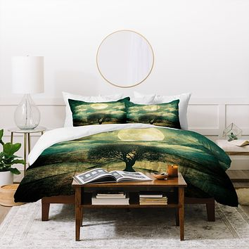 Viviana Gonzalez Once Upon A Time The Lone Tree Duvet Cover