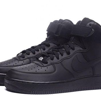 LMFON Nike Air Force 1 07 Mid Olive Black For Women Men Running Sport Casual Shoes Sneakers