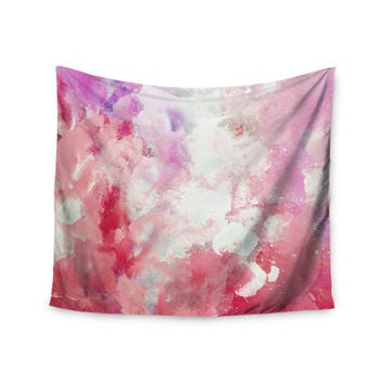 "CarolLynn Tice ""Tannins"" Red Pink Wall Tapestry"
