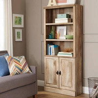 Crossmill Collection Weathered Bookcase