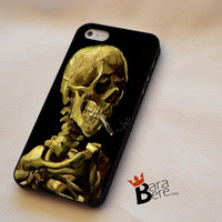 Skull Van Gogh iPhone 4s Case iPhone 5s Case iPhone 6 plus Case, Galaxy S3 Case Galaxy S4 Case Galaxy S5 Case, Note 3 Case Note 4 Case