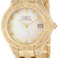 Invicta Women's 0268 II Collection Diamond Accented 18k Gold-Plated Watch