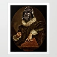 baroque darth Art Print by Startistunknown