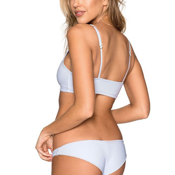 Frankie's Bikinis Greer Bottom - Cloud Blue