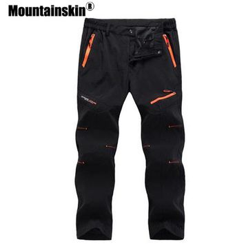 Mountainskin 5XL 2018 Mens Quick Dry Long Pants Men Breathable Joggers Trousers Male Durable Casual Brand Clothing SA023