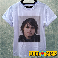 Low Price Women's Adult T-Shirt - Gerard Way My Chemical Romance design