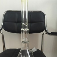 Beaker Creative pipe and cigars Top Grade Glass Bongs showerhead