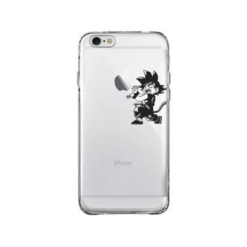 DRAGON BALL Z GOKU KAMEHAME iPhone and Samsung Galaxy Clear Case