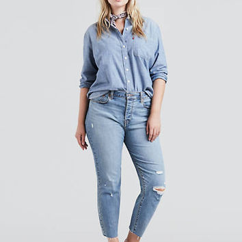 Wedgie Fit Jeans (plus Size) - Medium Wash | Levi's® US