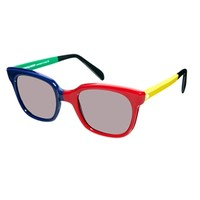 Sheriff&Cherry D Frame Sunglasses - Multi